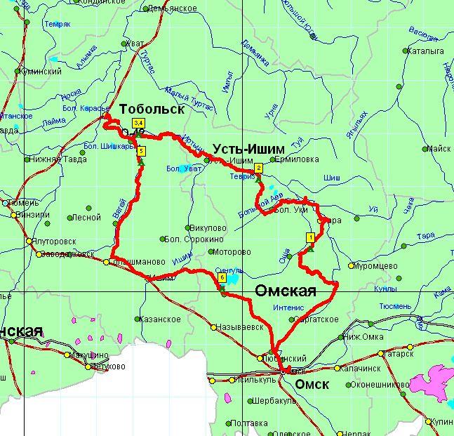 Посмотреть маршрут на карте