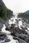 Чульчинский водопад. Фото дает сотую часть реальности!